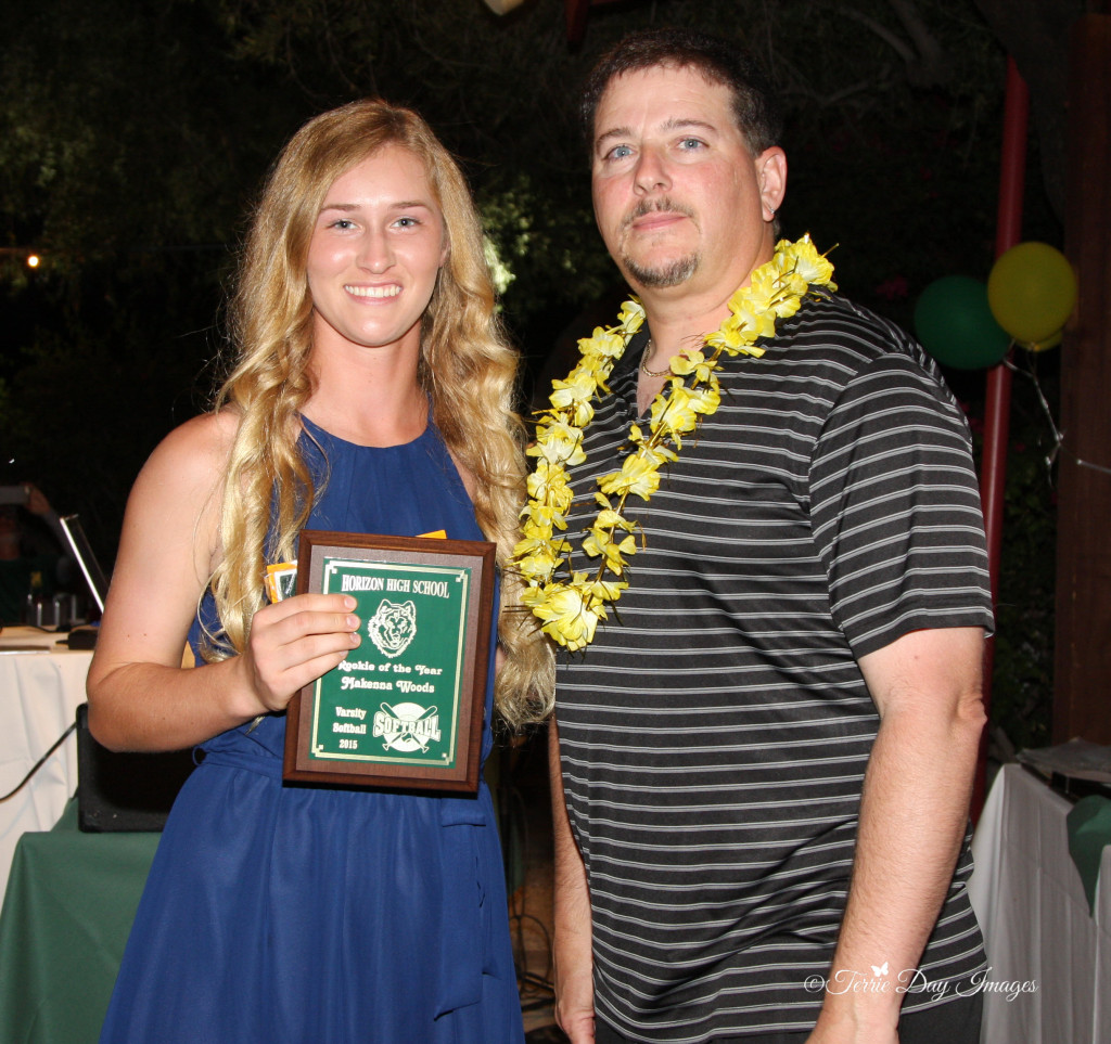 So. Makenna Woods Award: Rookie of the Year